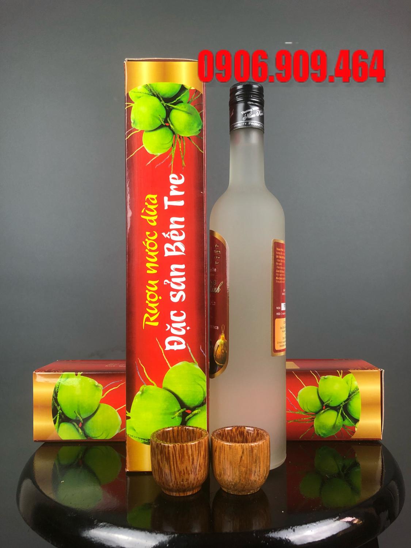 đại lý rượu dừa bến tre
