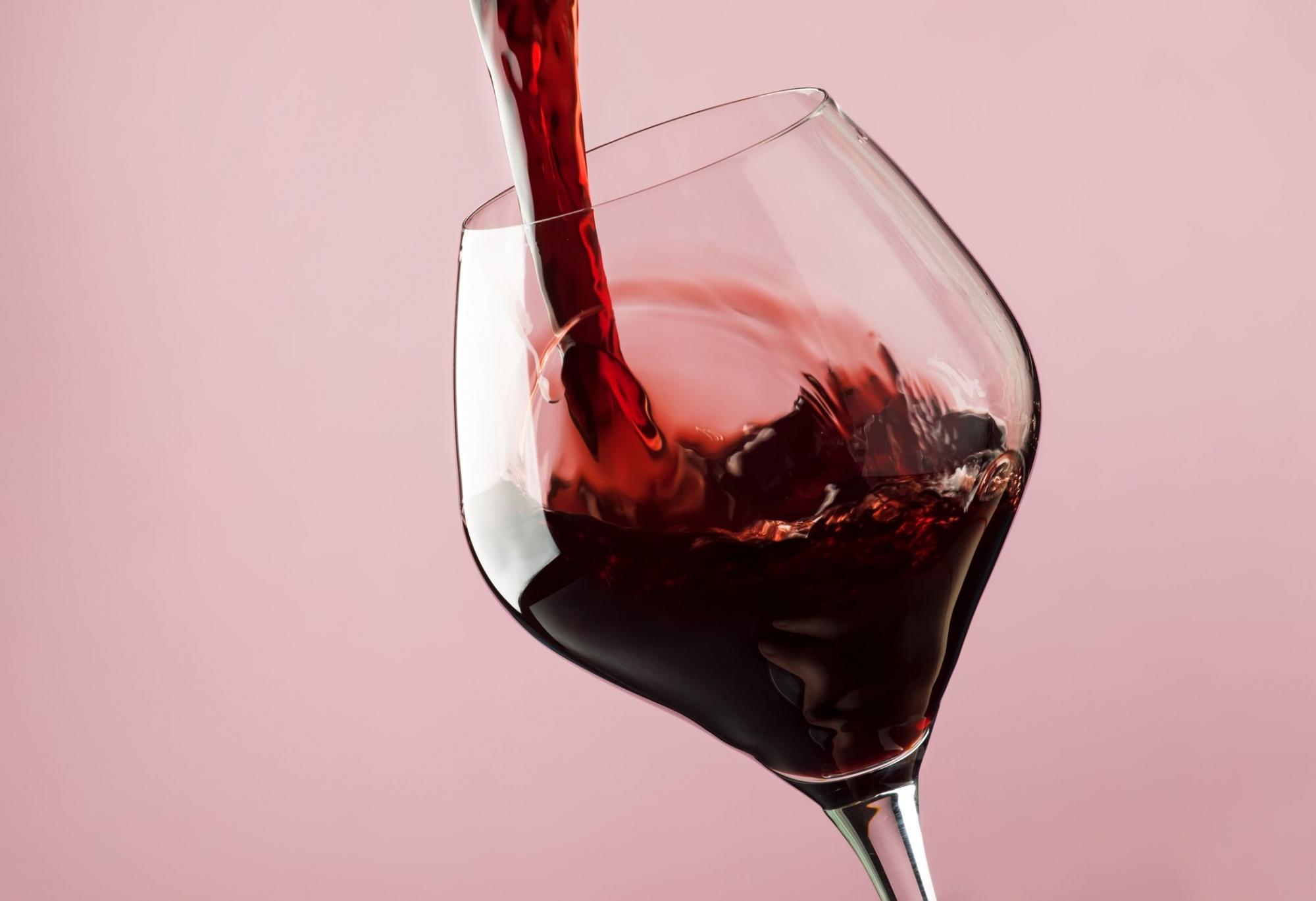 Rượu vang được bảo quản đúng cách